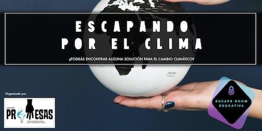 ESCAPANDO POR EL CLIMA