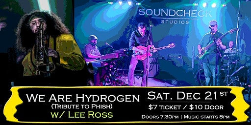 We Are Hydrogen w/ Lee Ross at Soundcheck Studios