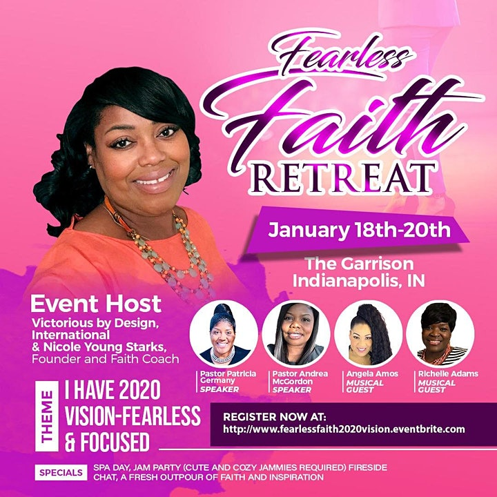 """I HAVE 2020 VISION"" - Fearless Faith  Women's Retreat & 2020 Vision Fair image"
