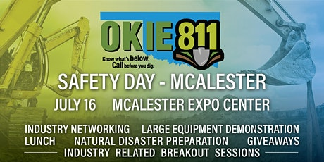 OKIE811 Safety Days - McAlester tickets