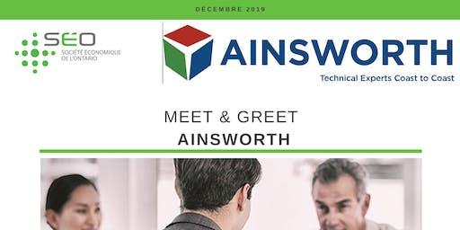 Meet & Greet Ainsworth