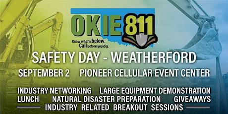 OKIE811 Safety Days - Weatherford tickets