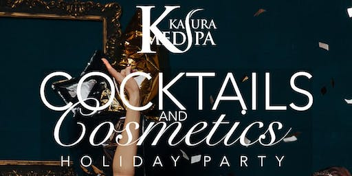 Cocktails & Cosmetics Kasura Holiday Party
