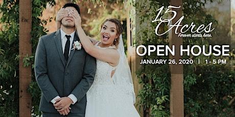 15 Acres Venue | Open House tickets