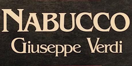 Nabucco de Verdi el 27 de junio  en Santiago de Compostela entradas