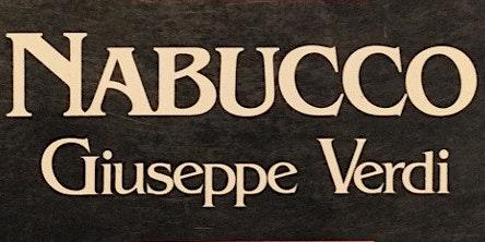 Nabucco de Verdi el 27 de junio  en Santiago de Compostela