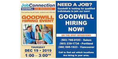Goodwill is Hiring - Oak Grove - 12/19/19
