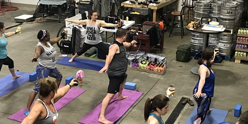 eat.YOGA.drink Yoga & Beer at Fair Winds