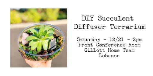 Succulent Diffuser Terrarium Workshop