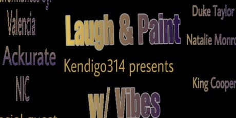 The Healing Components (Laugh & Paint w/ Vibes) tickets