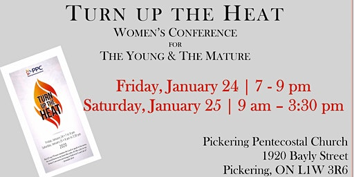 Turn up the Heat - Women's Conference