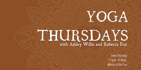 Yoga Thursdays tickets