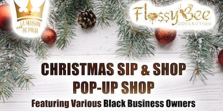 Flossy Bee Collection x La Maison De Pugh Christmas Pop Up Shop tickets