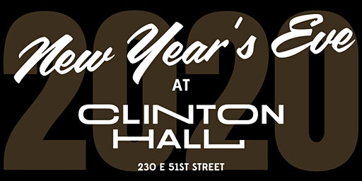 New Year's Eve at Clinton Hall 51