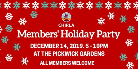 Members Holiday Party tickets
