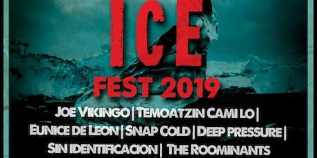 Deep Pressure - Ice fest 2019 boletos