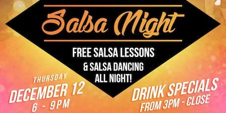 Salsa Night @ Mercado369! tickets