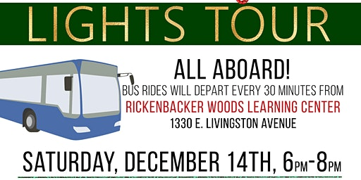 3rd Annual Rickenbacker Woods Holiday Lights Tour in Old Oaks