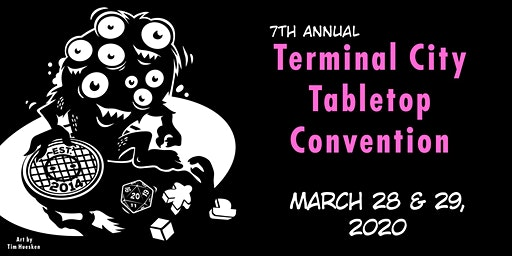 Terminal City Tabletop Convention 2020 (TCTC 2020)