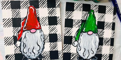Gnomes Painting Class