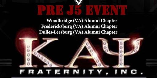 Pre Founders Day First Friday with the Woodbridge (VA) Alumni, Dulles-Leesburg Alumni (VA), and Fredericksburg (VA) Alumni Chapter's of Kappa Alpha Psi Fraternity, Inc.