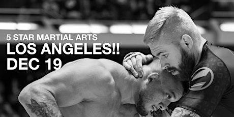 GORDON RYAN - 5 STAR MARTIAL ARTS LOS ANGELES tickets