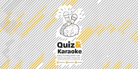 Quiz & Karaoke tickets