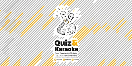 Quiz & Karaoke tickets
