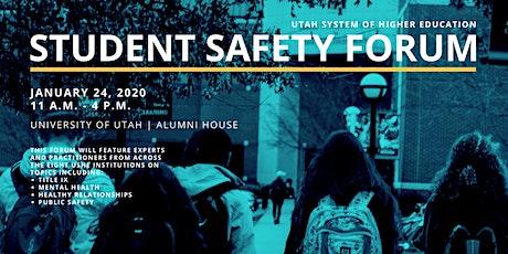 Student Safety Forum tickets