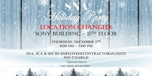 SNA SD Holiday Party