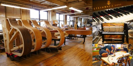 Following the Journey of a Piano @ Steinway & Sons Piano Factory tickets