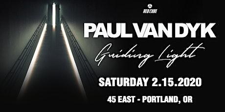 PAUL VAN DYK tickets
