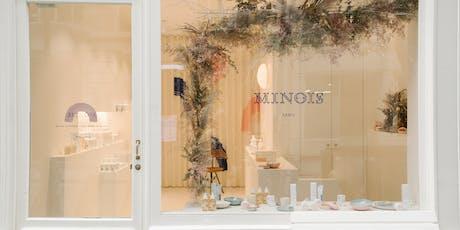 Atelier Couronnes de Noël - Minois Paris x Racine billets