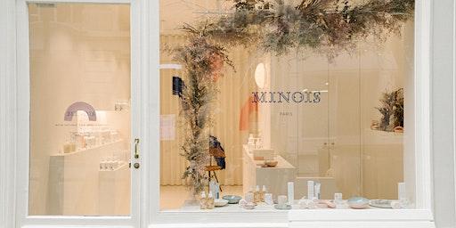 Atelier Couronnes de Noël - Minois Paris x Racine