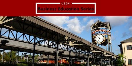 LEDA Education Session: Procurement and Certifications - Q4 tickets