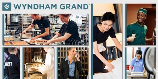 Wyndham Grand Hotel Hiring Event