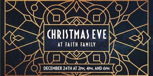 Christmas Eve at Faith Family!