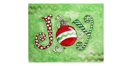 Painting Class - Christmas Joy - Free $5 Tradewind gift card tickets