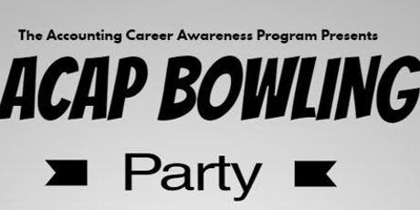 ACAP Annual Bowling Event tickets
