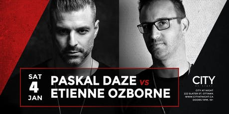 Paskal Daze & Etienne Ozborne at City At Night tickets