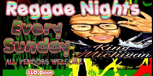 Raggae Nights (Sunday)