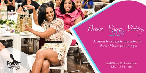 Dream. Vision. Victory. 2020 Vision Board Party