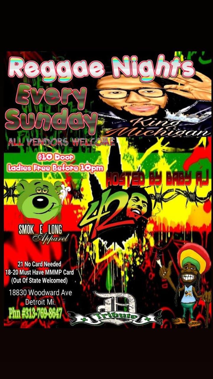 420 Events In Michigan 2020.Raggae Nights Tickets Sun Jan 12 2020 At 7 00 Pm Eventbrite