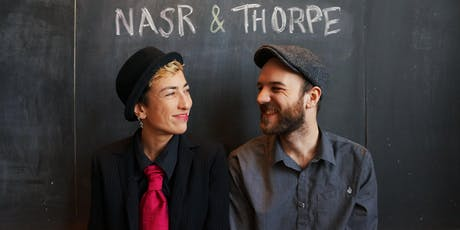 Ariana Nasr and Curtis Thorpe: Live @ Lane's tickets