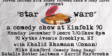 Star Wars A Comedy Show with Comics from Conan tickets