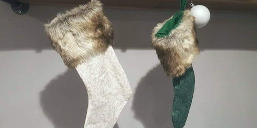 Holiday Stocking Sewing Workshop