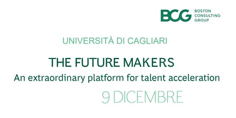 Boston Consulting Group: The Future Makers biglietti