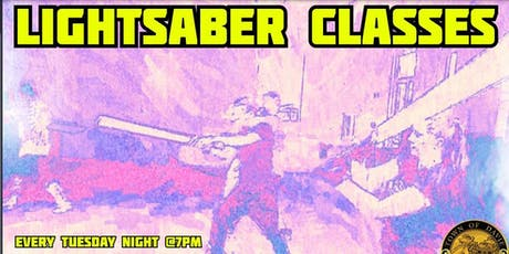 Lightsaber Class and Dueling  tickets