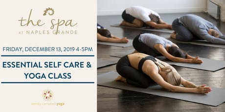 Essential Self Care and Yoga Class tickets