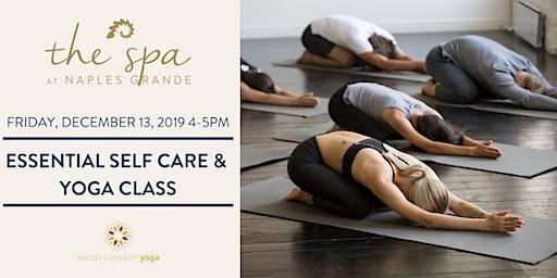 Essential Self Care and Yoga Class